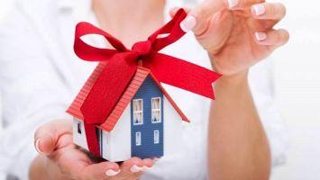 Налог надарение недвижимости