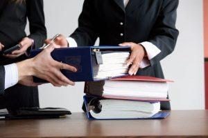 Положение о передачи дел при увольнении сотрудника