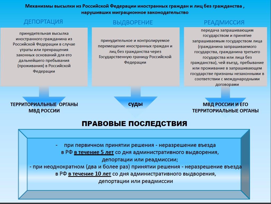 Проверка депортации иностранных граждан: как проверить депортирован ли человек из России или нет