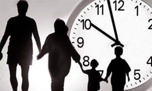 Время нахождения детей на улице без взрослых