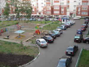 Грузовой автомобиль во двоое стоянка запрещена